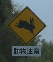 うさぎ-動物標識