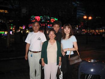 家族香港旅行
