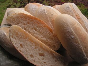 生茶葉酵母パン1