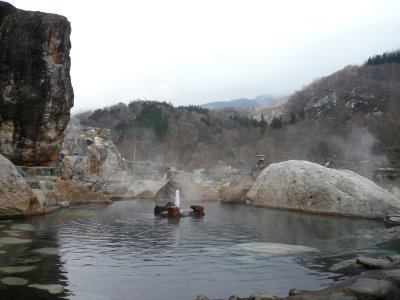 超・巨大混浴露天風呂
