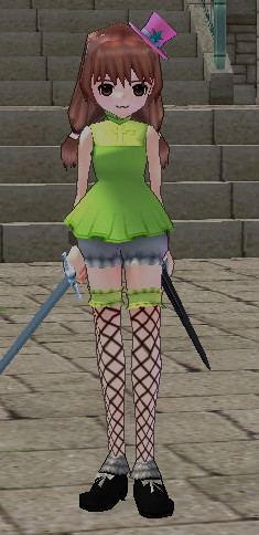 緑ビアンカ