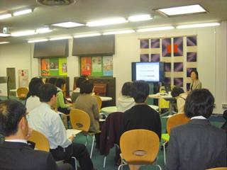 今日はお勉強会(2) inキャリアカフェ