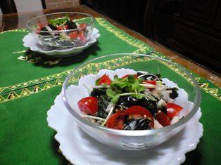 わかめと長芋のサラダ