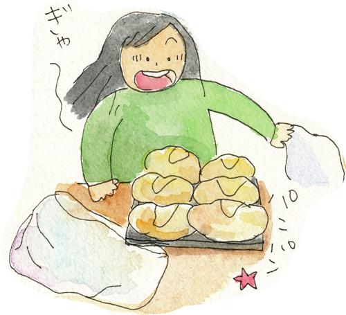 初めてパン6