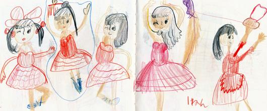 6才の頃 絵日記2_0003