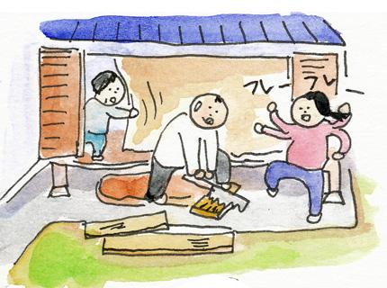 猫小屋作る3