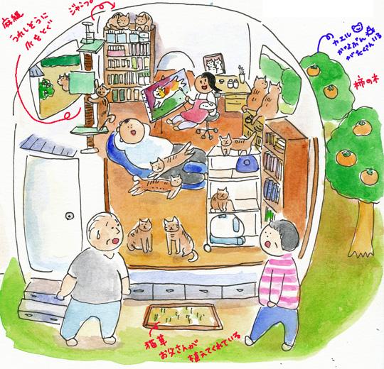 猫小屋作る5