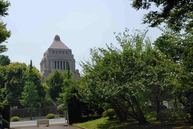 国会議事堂付近の公園