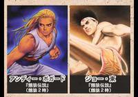 格闘ゲームのキャラクターの年齢