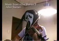 アフターバーナーをヴァイオリンで弾いてみた