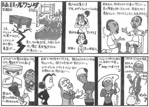 ワンラブ通信37号マンガ