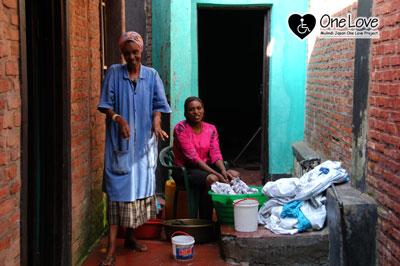 ルワンダ洗濯