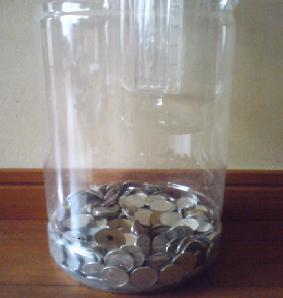 ペットボトル貯金