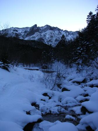 北沢と横岳