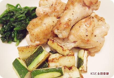 大地宅配の野菜を使った料理2