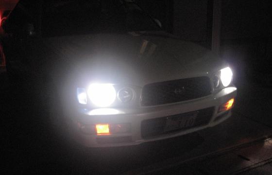 ウインカーポジションヘッドライト点灯時
