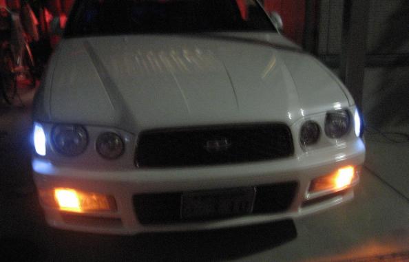 ウインカーポジションヘッドライト消灯時