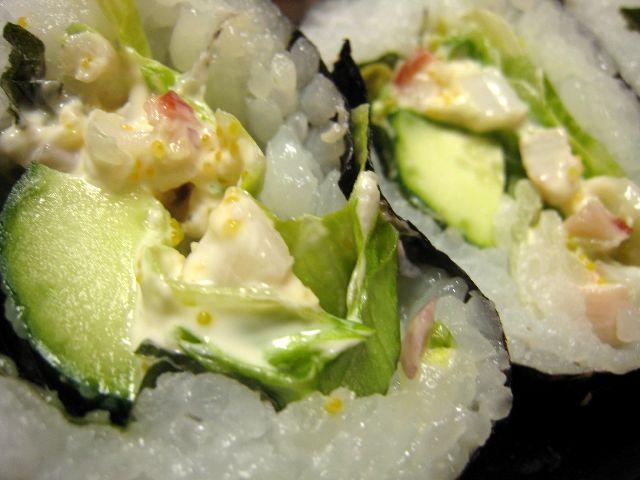 ホッキ貝寿司