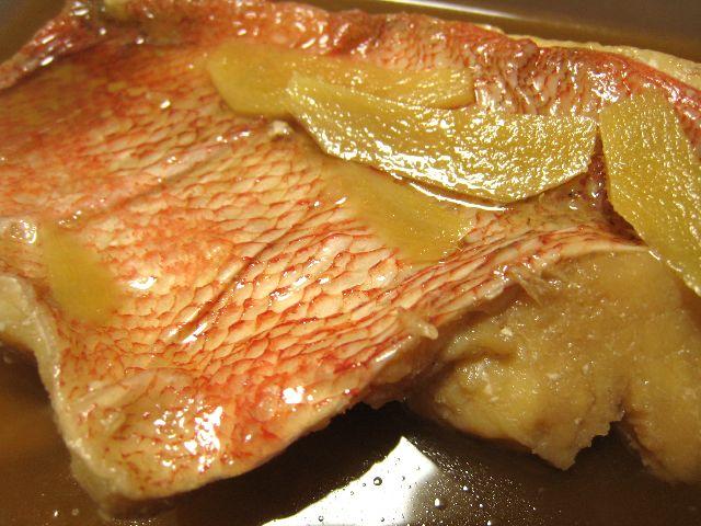 赤魚煮付け