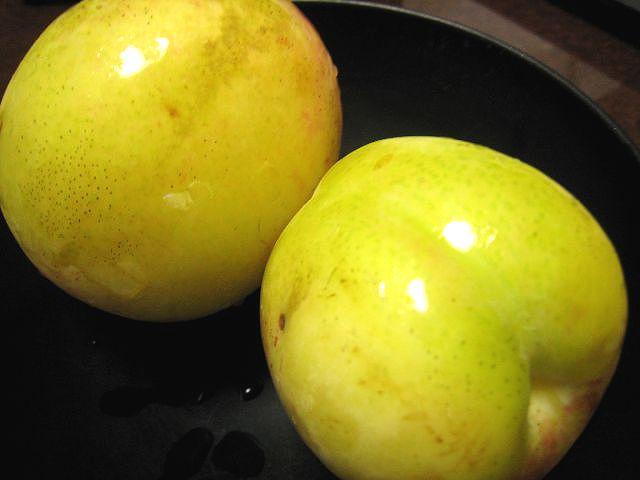 カリカリ桃