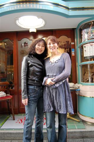 国府弘子さんと小澤直子