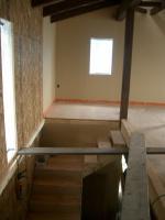 2階から階段