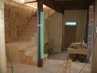 階段と土間