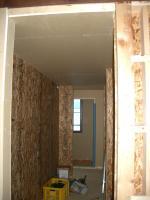 2階玄関収納の天井