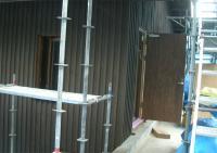 2階主玄関 内側塗装