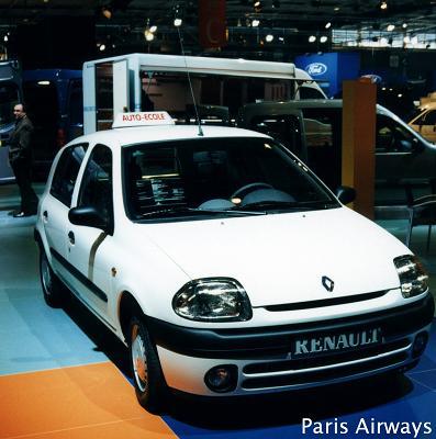 フランスの教習車