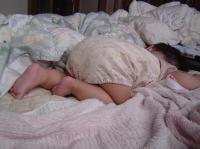 ・・・その寝方ゎ