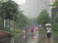 雨の日通学