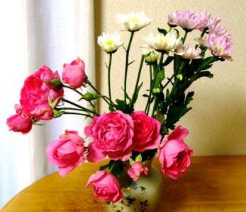 仏花ですけど、