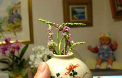 一応、九谷の花瓶