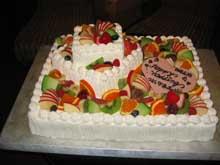 6/15 Wedding Cake