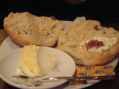 scone close up