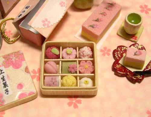 ドールハウス 和菓子