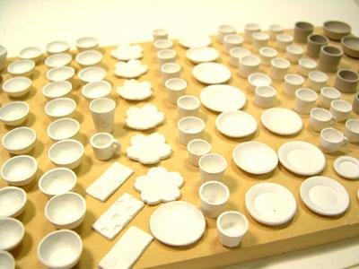 ミニチュア陶器 ドールハウス 陶芸