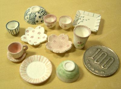 ミニチュア陶芸