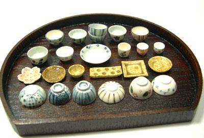 ドールハウス 食器 陶器