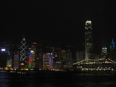 九龍島からの夜景