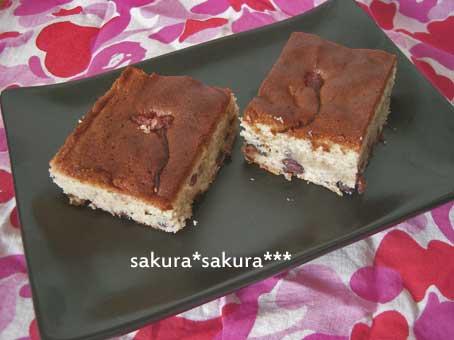 サクラケーキ
