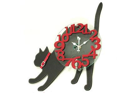 猫のオーダー時計