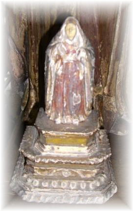 dolorosa, century old, bicol p28,000 with ivory face and wooden body