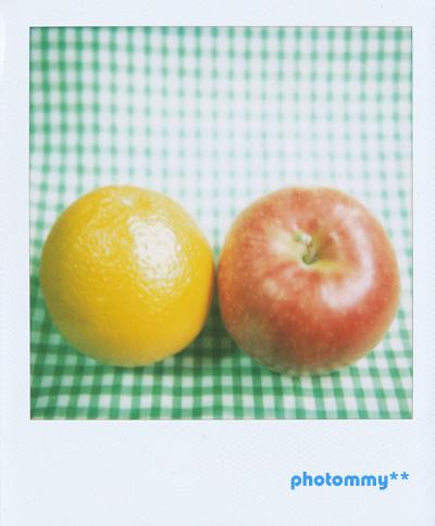オレンジと林檎0501