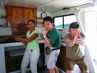 シミラン ショートクルーズ タイ ダイビング アンダマン海