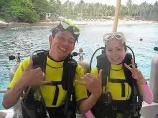 体験ダイビング ラチャヤイ島 プーケット タイ