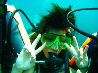 プーケット 体験ダイビング タイ ラチャヤイ島 1