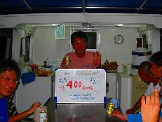 シミランのダイビングクルーズ 食事 ランチ