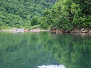 ここは新潟三条市・大谷ダム